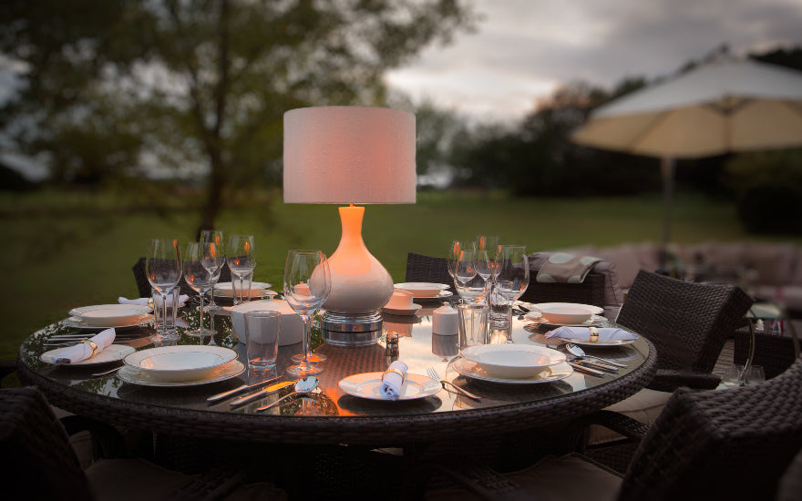 Cordless Outdoor Lamps - 8 Outdoor Lighting Ideas to Illuminate Your Garden - LuxDeco.com Style Guide