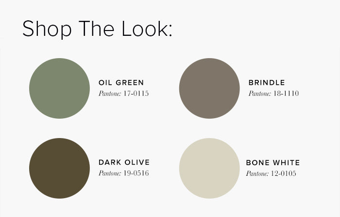 Cream and Green Living Room Colour swatches - Lounge Colour Schemes & Colour Combination ideas – LuxDeco Style Guide