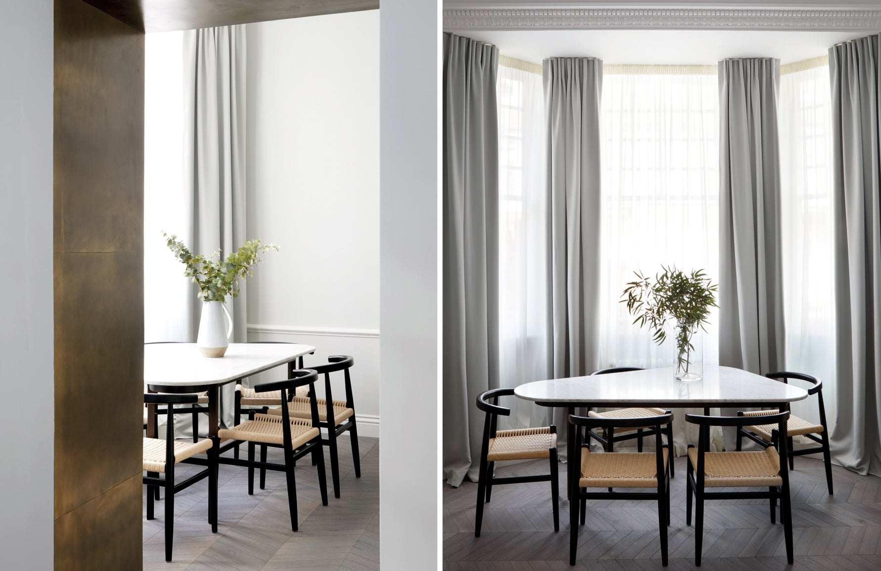 Design Haus Liberty London | Minimalist Dining Room | The Luxurist |  LuxDeco.com