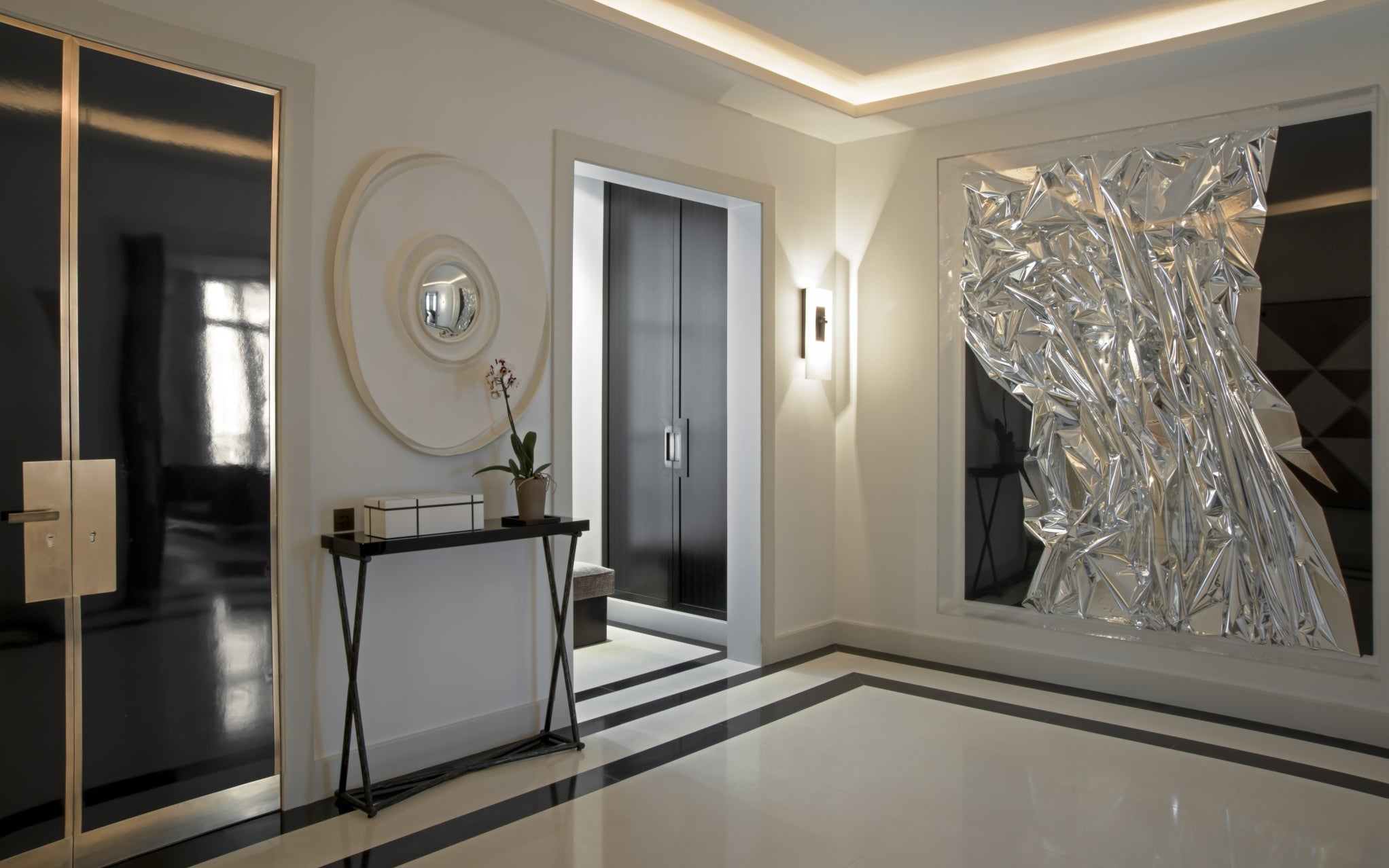 Discover Champeau & Wilde's Nouvelle Athenes Project in Paris - Entryway Hallway - LuxDeco Style Guide