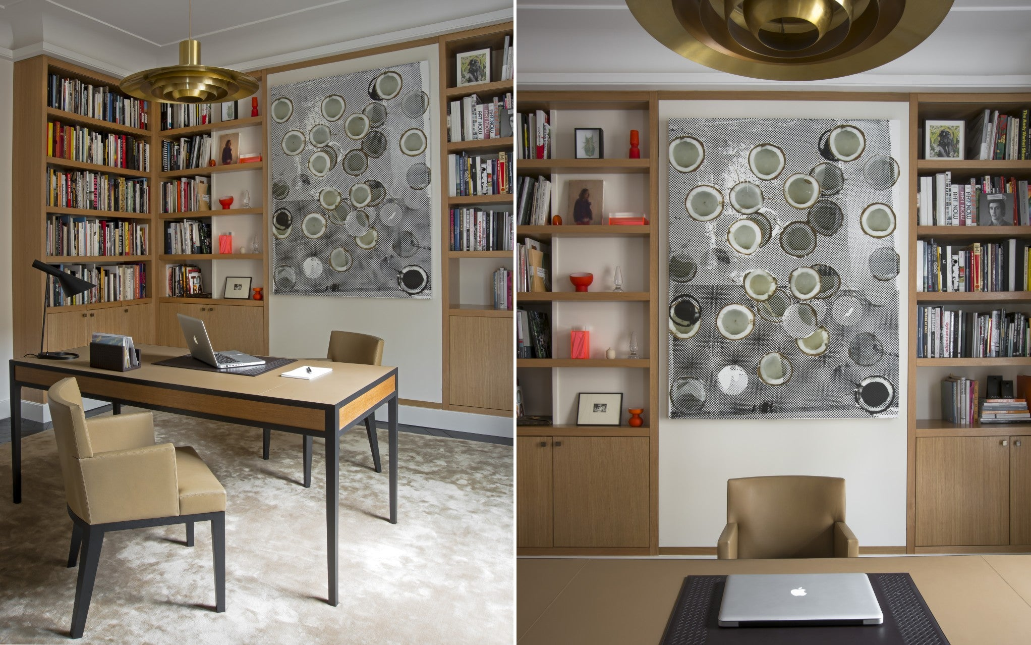 Discover Champeau & Wilde's Nouvelle Athenes Project in Paris - Home Office - LuxDeco Style Guide