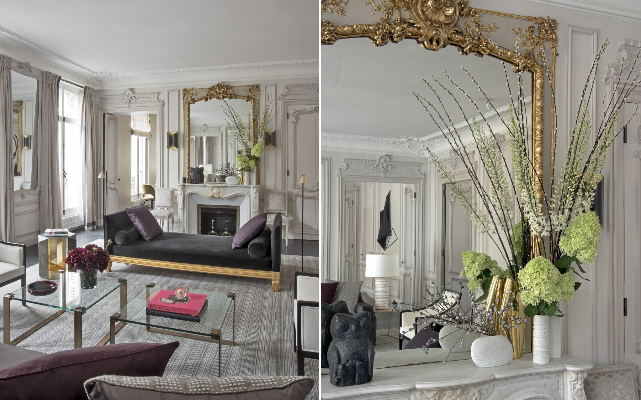 Discover Champeau & Wilde's Nouvelle Athenes Project in Paris - Living Room - LuxDeco Style Guide
