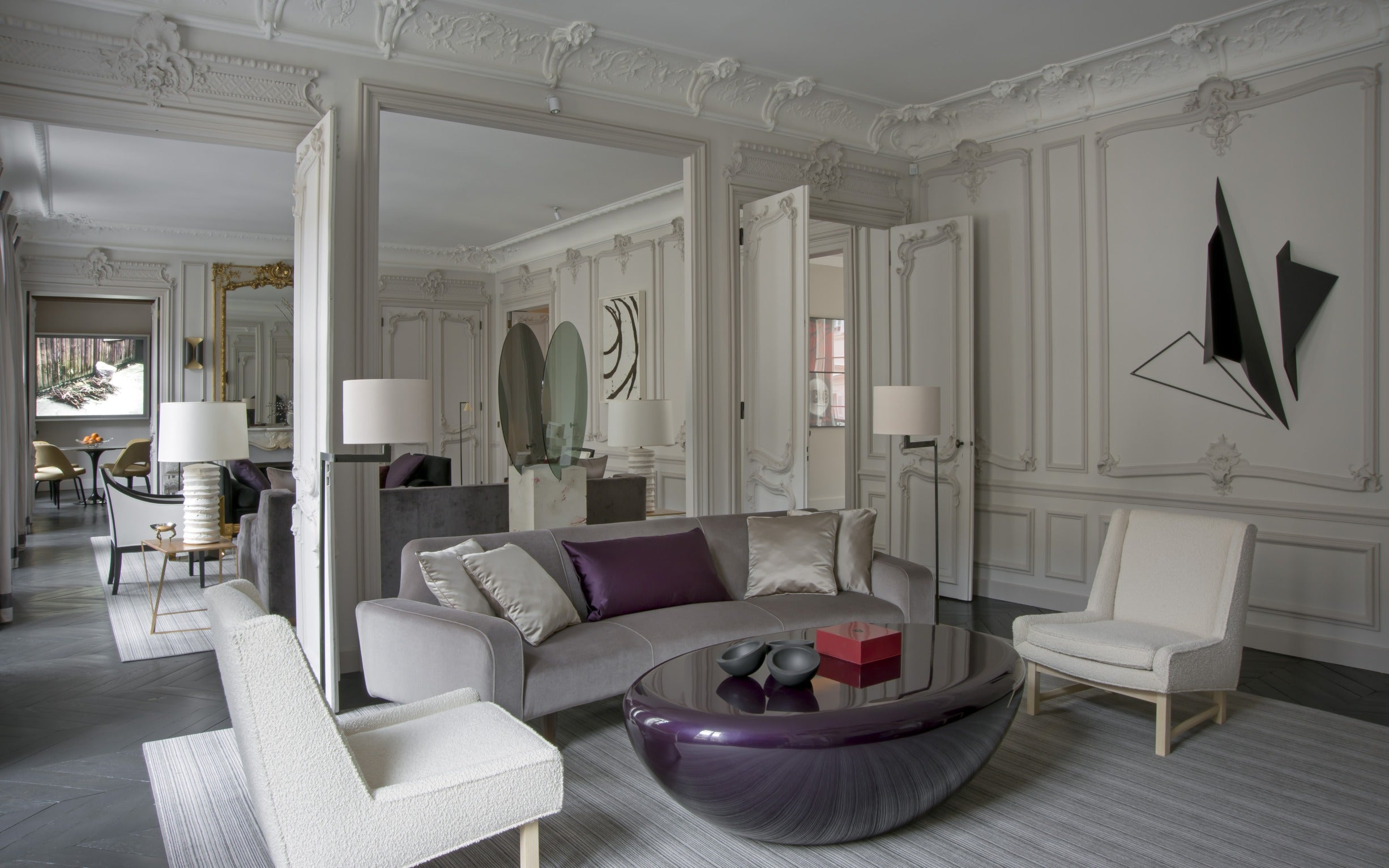 Discover Champeau & Wilde's Nouvelle Athenes Project in Paris - Second Living Room - LuxDeco Style Guide