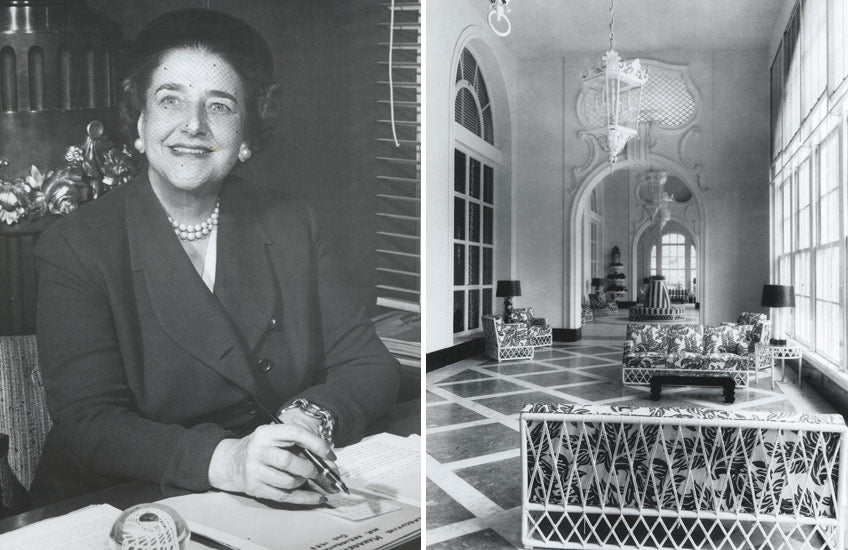 Female Interior Designers who Changed the Industry - Dorothy Draper - LuxDeco Style Guide