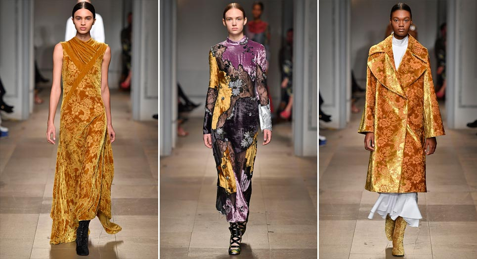 LFW 2017: Incorporating catwalk design trends in your home interior - Erdem - LuxDeco Style Guide