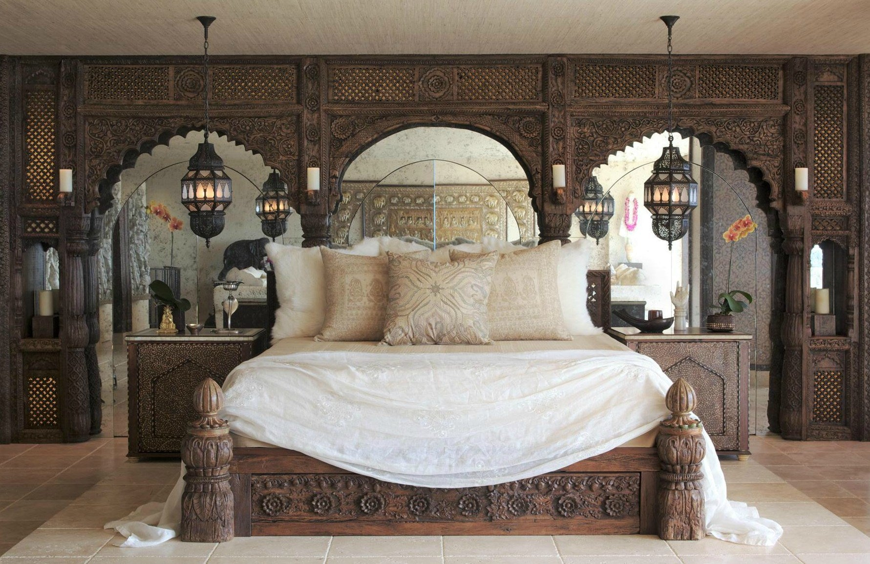 Famous Musicians Homes | Cher home; Interior design by Martyn Lawrence Bullard | LuxDeco.com