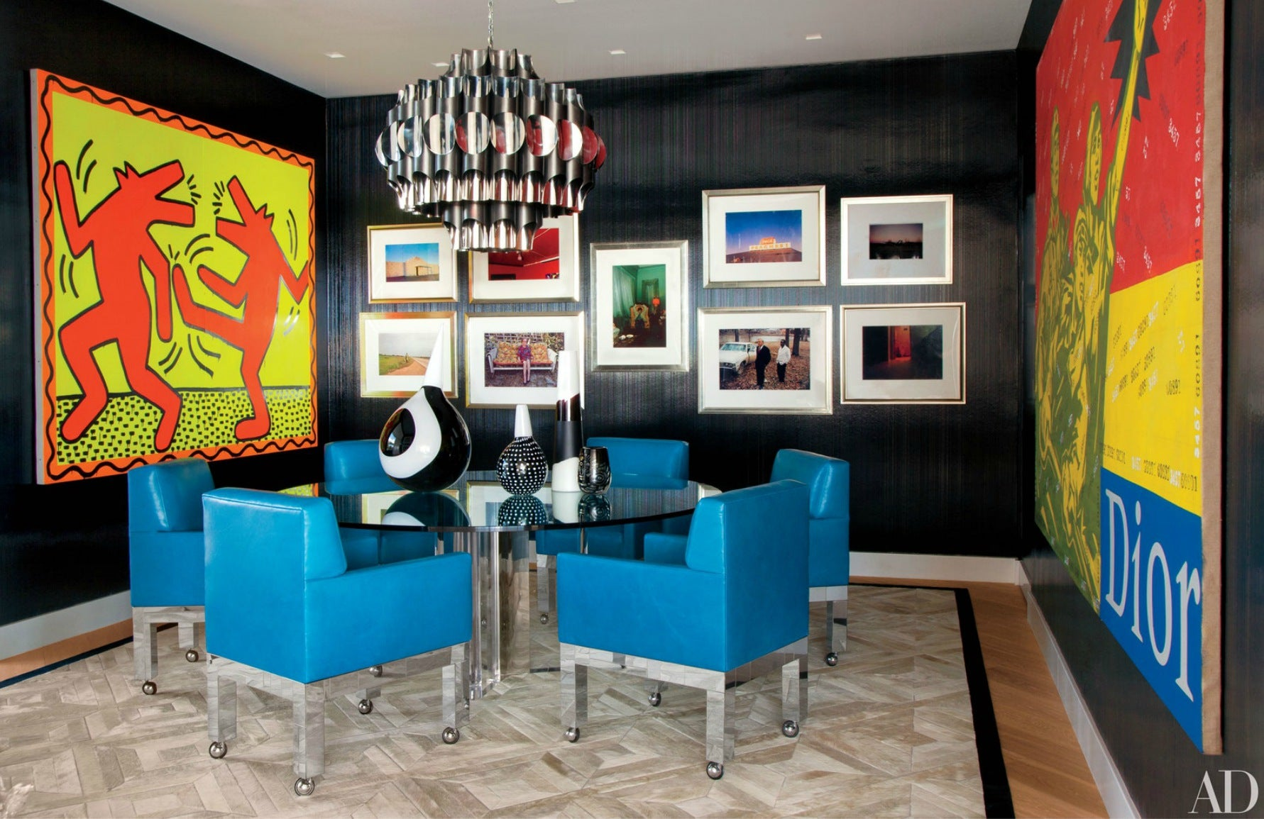 Famous Musicians Homes |  Elton John home; Interior design by Martyn Lawrence Bullard | LuxDeco.com
