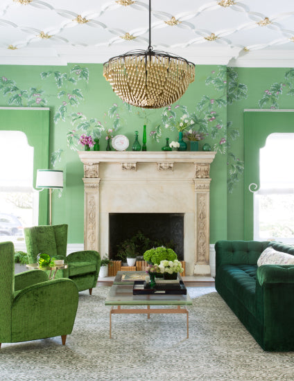 Feature Wall Ideas for your Living Room - Jonathan Rachman Design - LuxDeco Style Guide