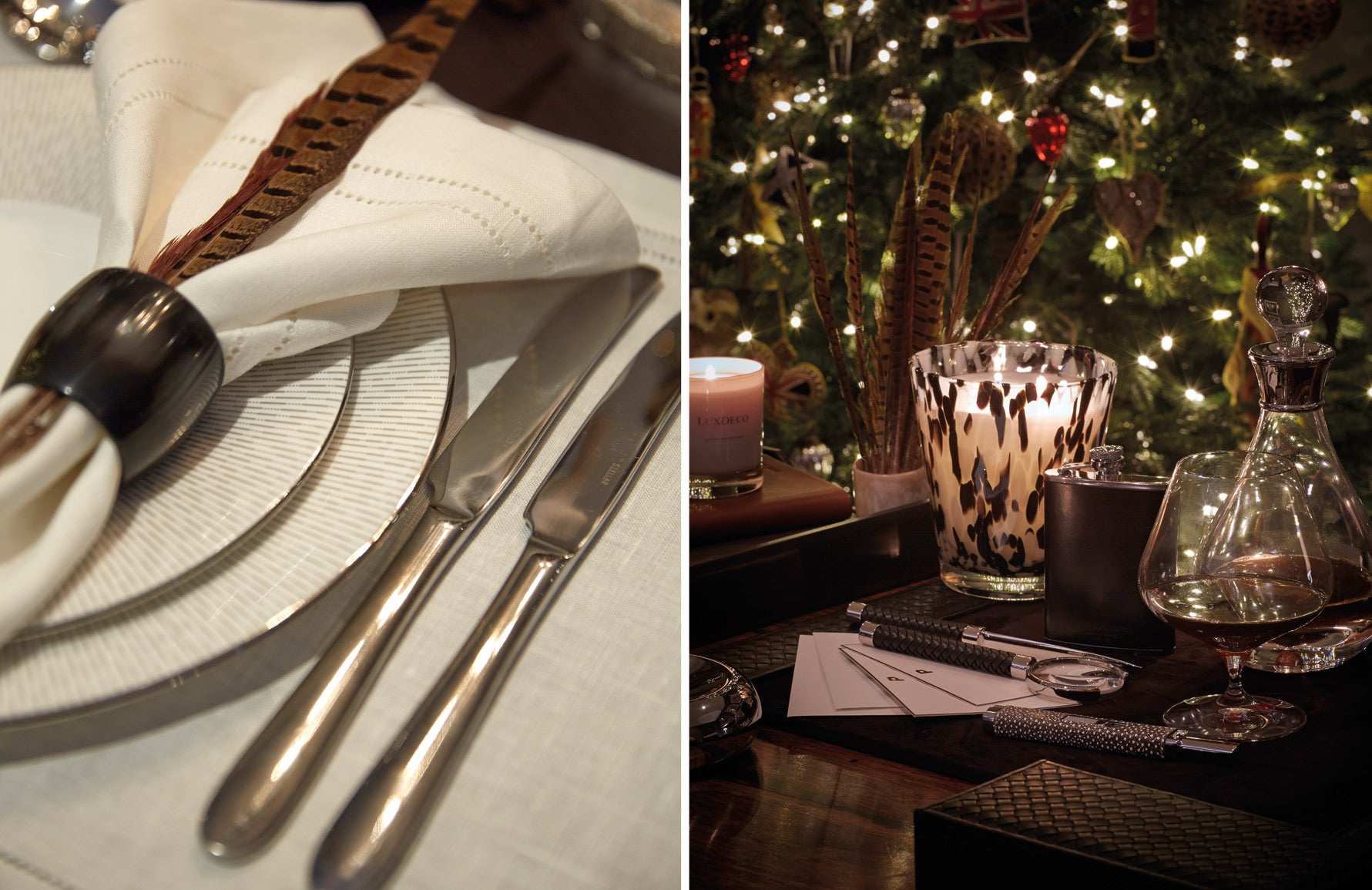 Festive Entertaining Made Easy   Luxury Tableware   Traditional Table Design   Sophie Paterson   Read more in the LuxDeco Style Guide