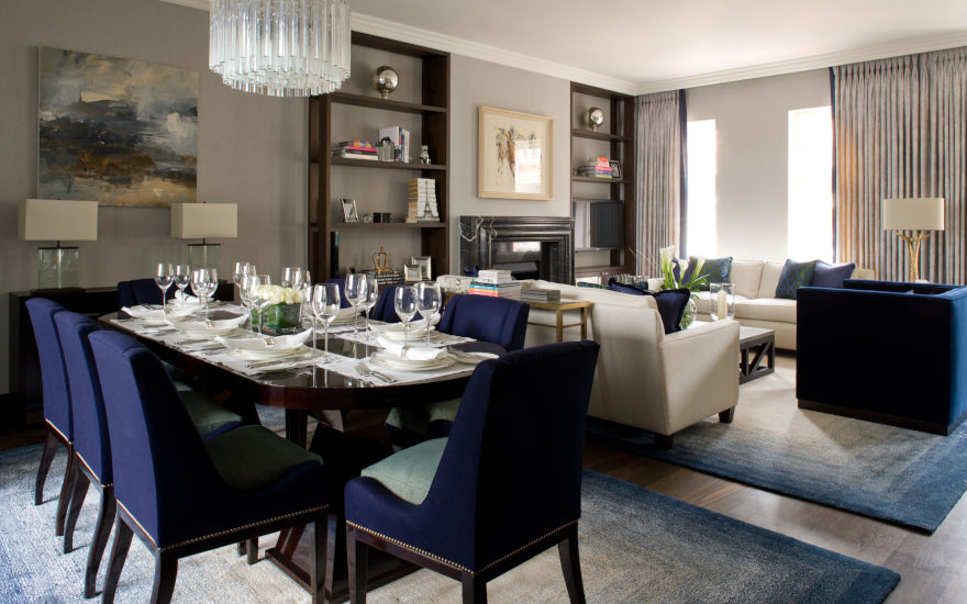 Formal vs Casual Dining Rooms - What is the Difference - Finchatton - LuxDeco Style Guide