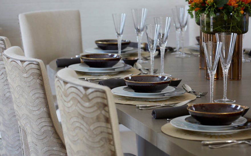 Formal vs Casual Dining Rooms - What is the Difference - Helen Green Design - LuxDeco Style Guide