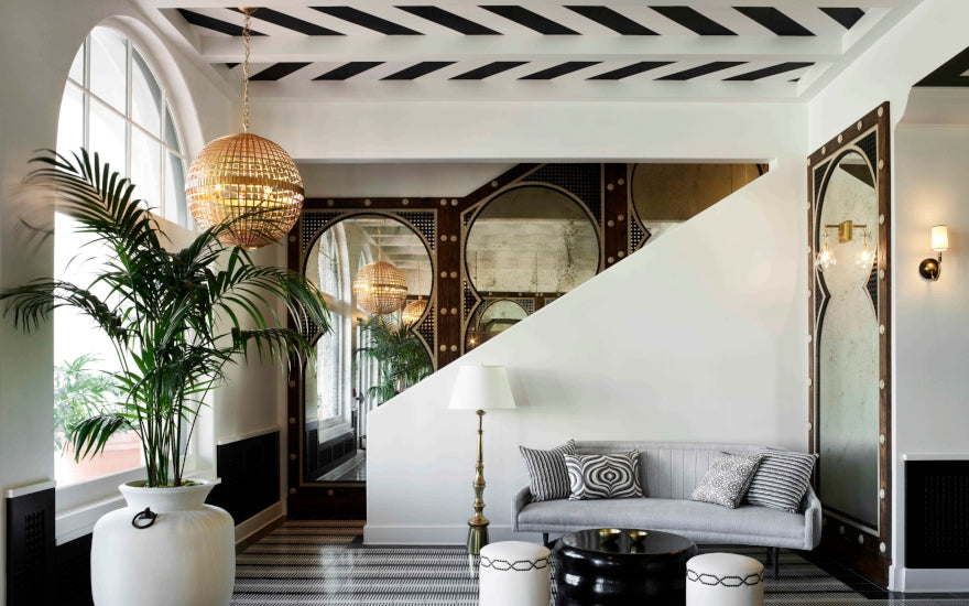 Forms of Geometric Shapes & Patterns In Interior Design - Martyn Lawrence Bullard - LuxDeco Style Guide