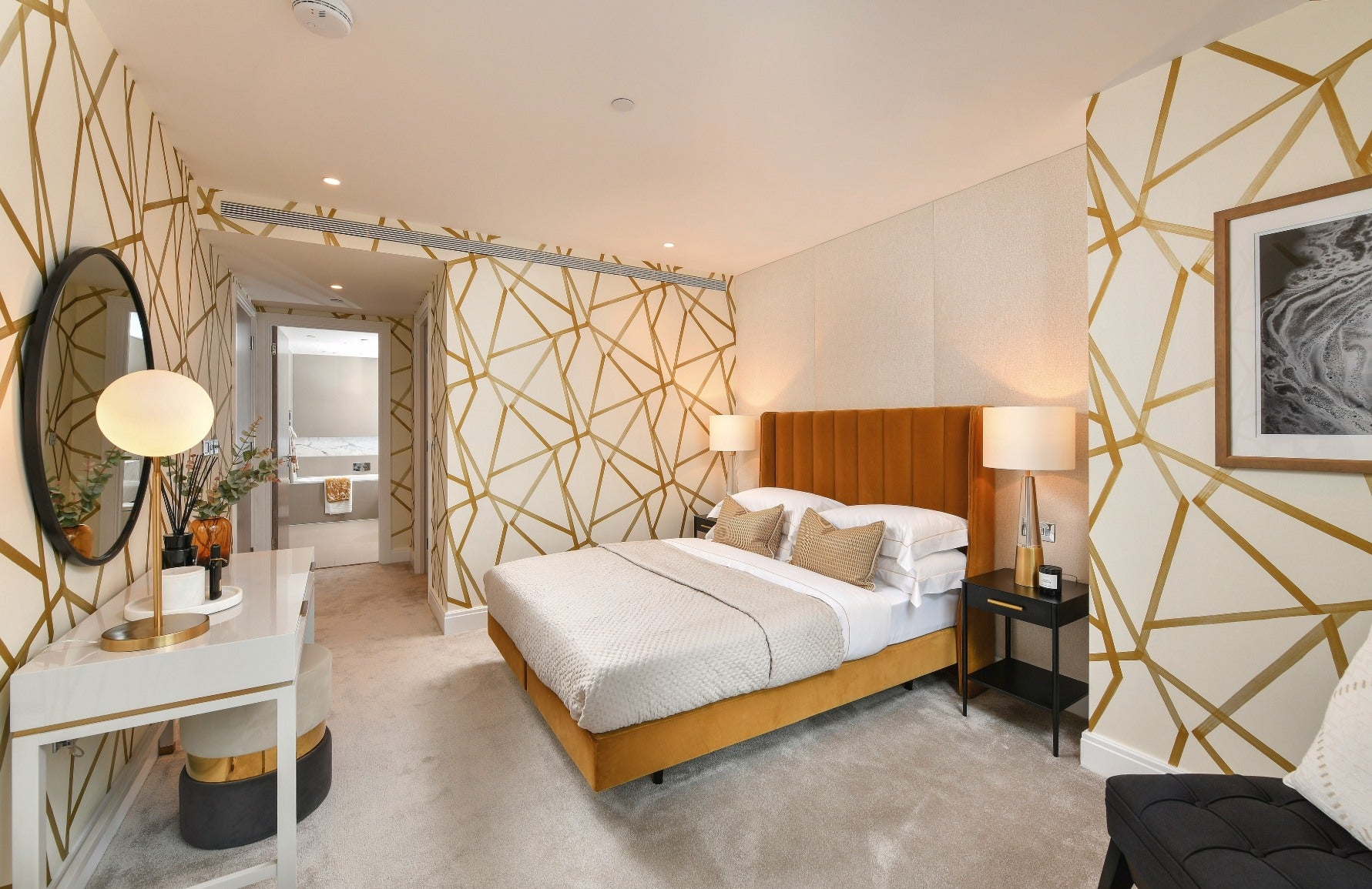 Forms of Geometric Shapes & Patterns In Interior Design   The Dumont by St James   LuxDeco.com Style Guide