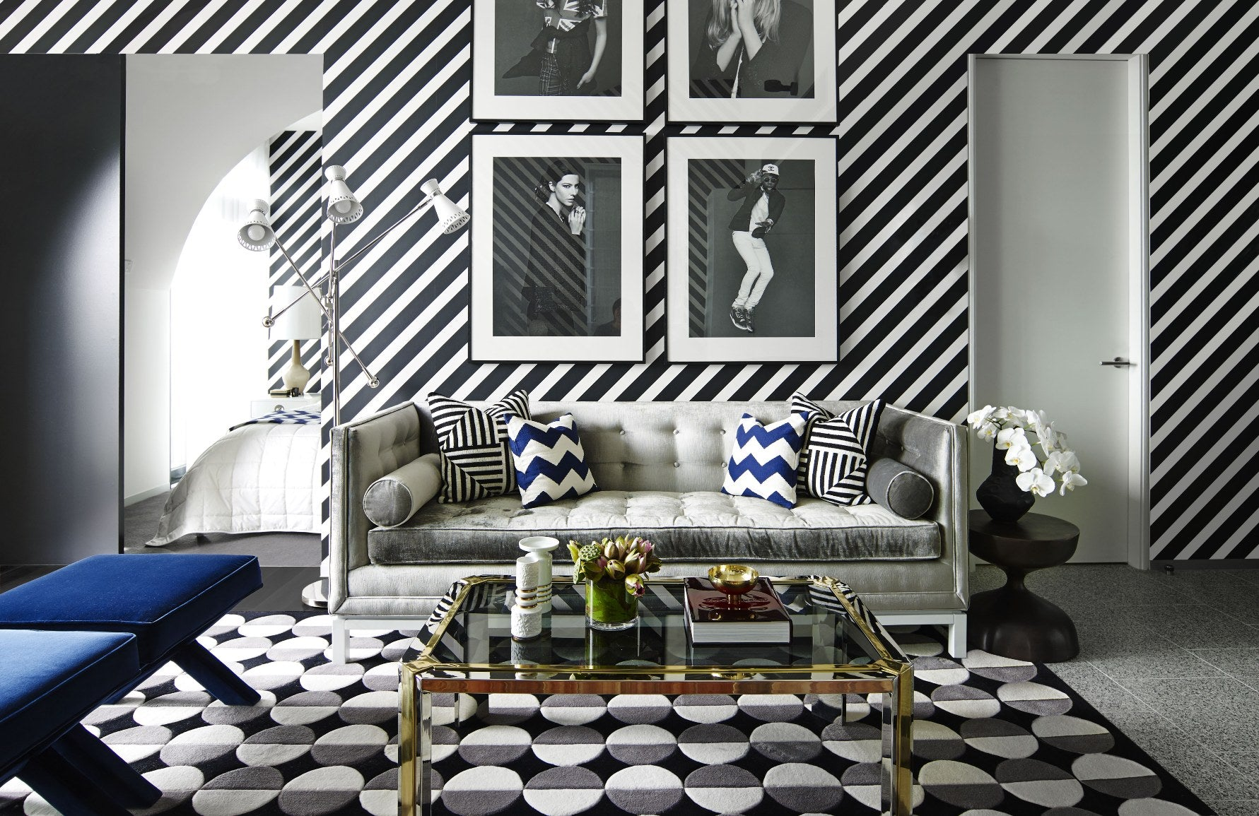 Forms of Geometric Shapes & Patterns In Interior Design | Six Senses Duxton | LuxDeco.com Style Guide