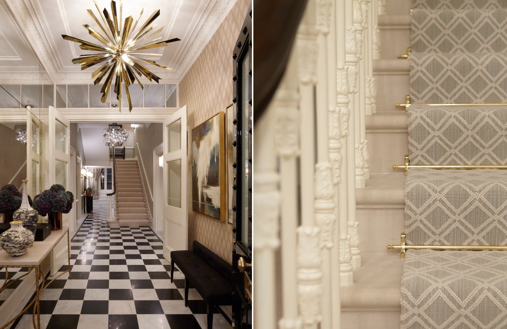 Forms of Geometric Shapes & Patterns In Interior Design   Squares   Helen Green Design   LuxDeco.com Style Guide
