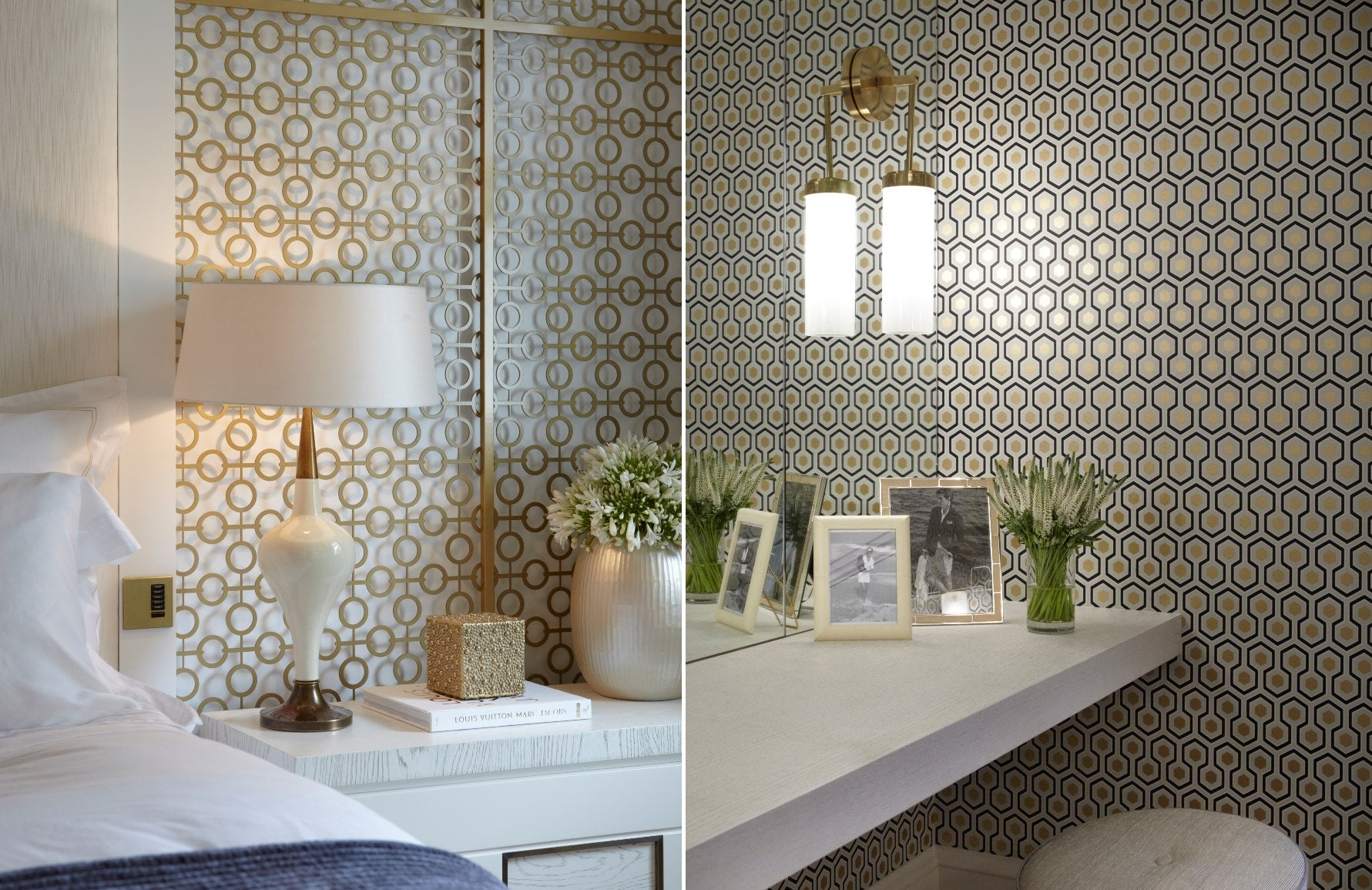Forms of Geometric Shapes & Patterns In Interior Design | Circles & Hexagons | LuxDeco.com Style Guide
