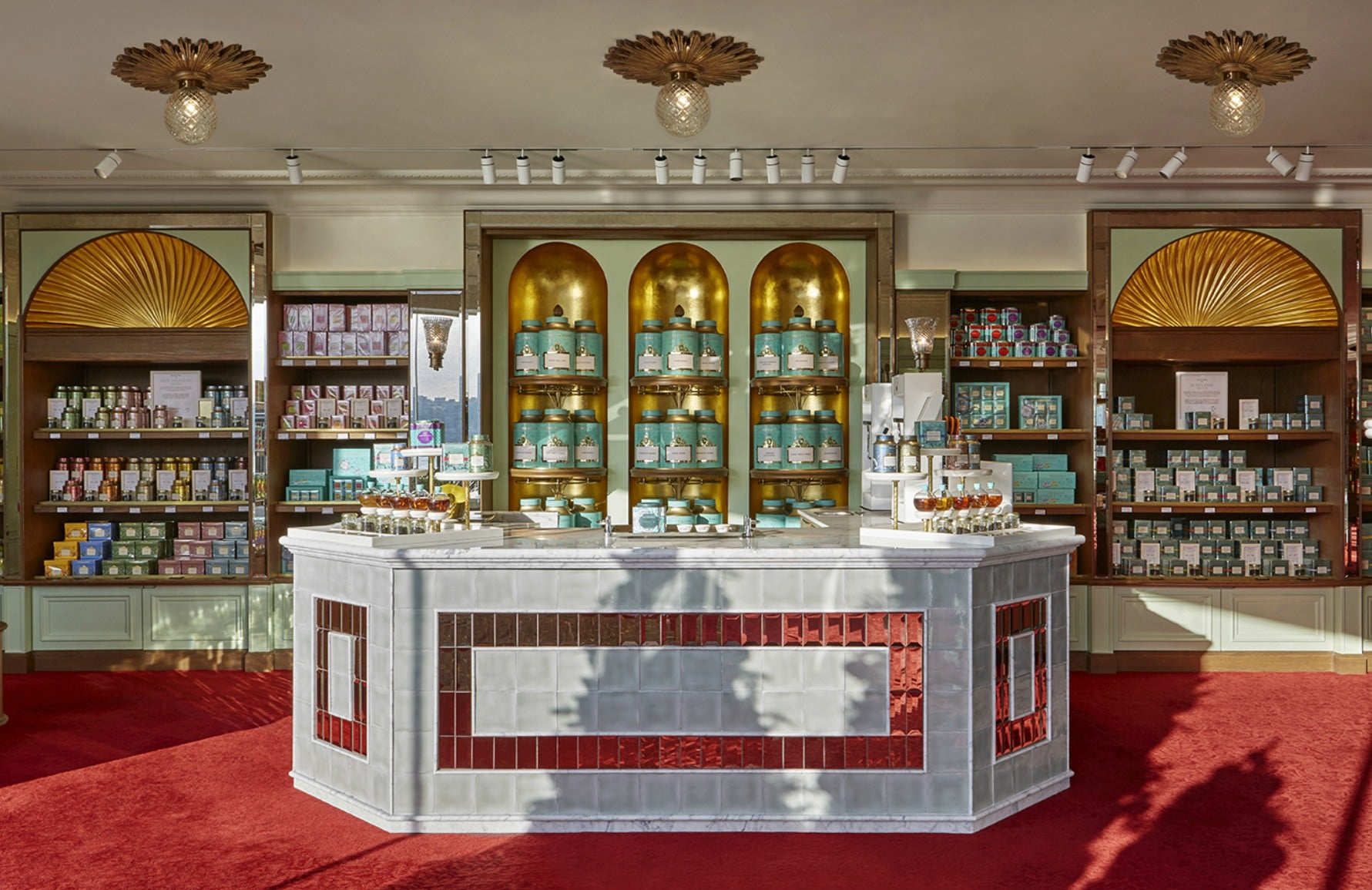 Fortnum & Mason Hong Kong | Interior by Martin Brudnizki | Discover more in the LuxDeco Style Guide