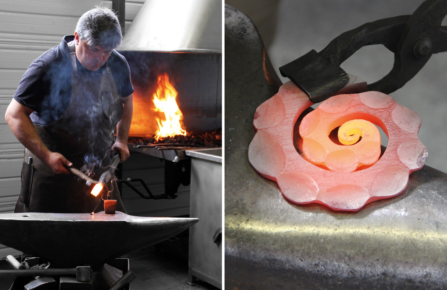 Franck Chartrain   How to forge metal furniture   Shop luxury metal furniture at LuxDeco.com