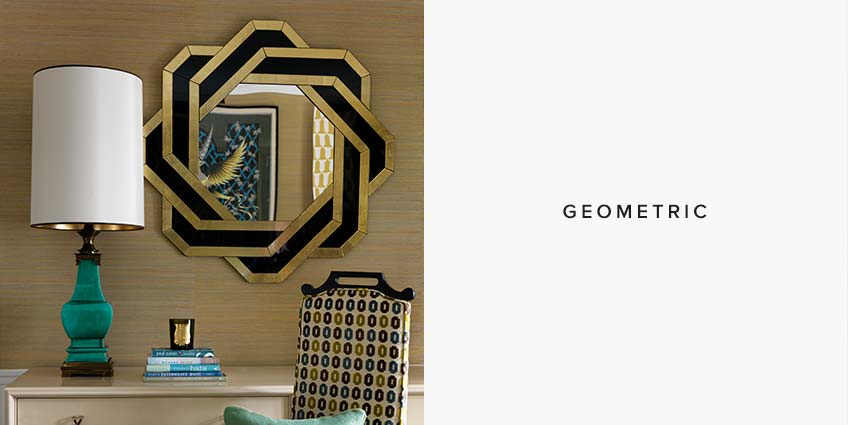 Geometric Mirror Styles: Which Mirror shape is for you - LuxDeco Style Guide