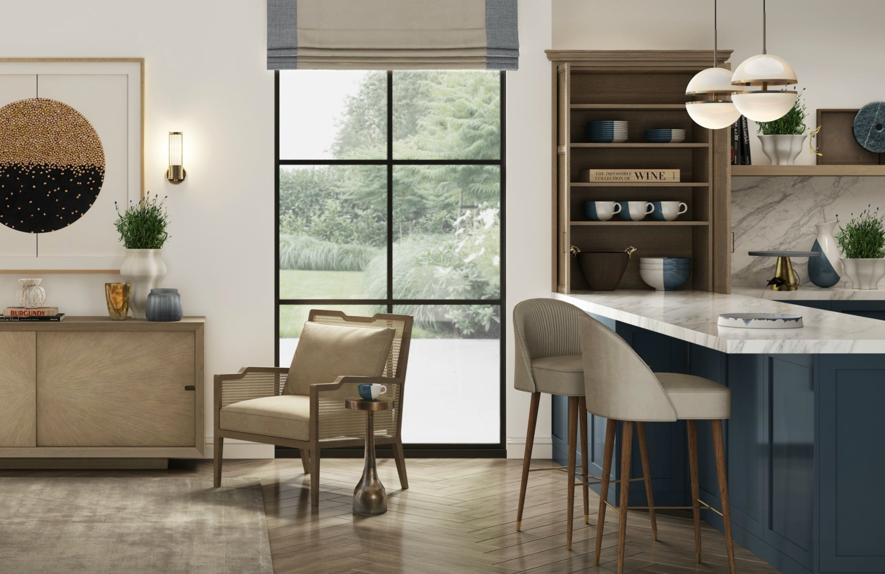 Get The Look | Wimbledon Collection | Luxury Kitchen Design | Shop the look at LuxDeco.com