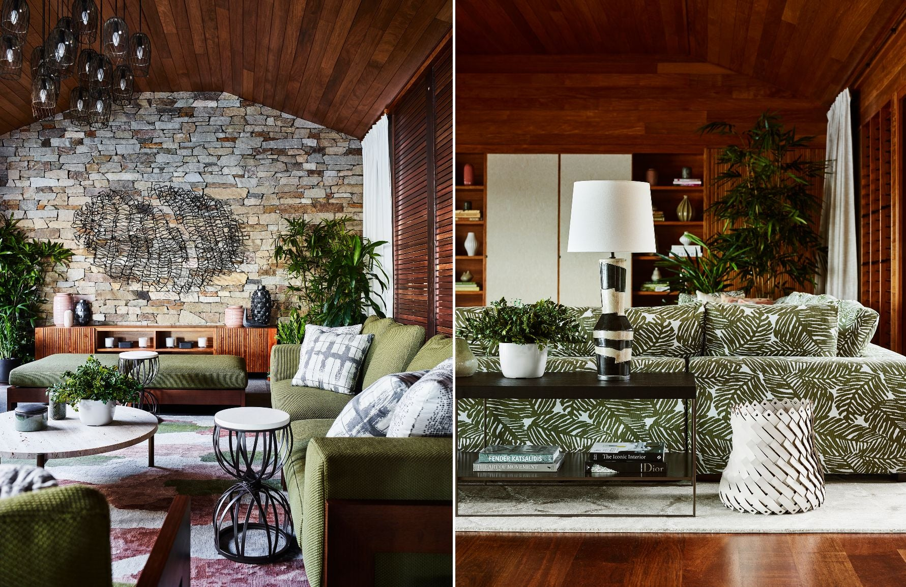 Green Living Room Ideas Decorating With Green Luxdeco