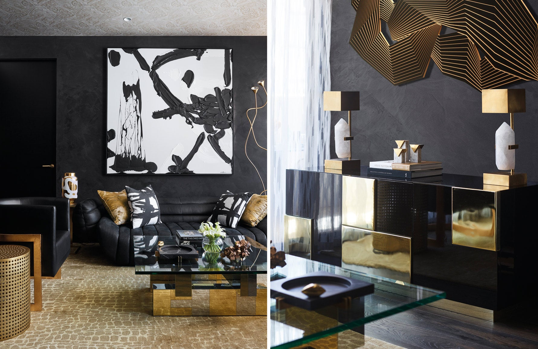 Greg Natale | Black Interiors | The Luxurist | LuxDeco.com