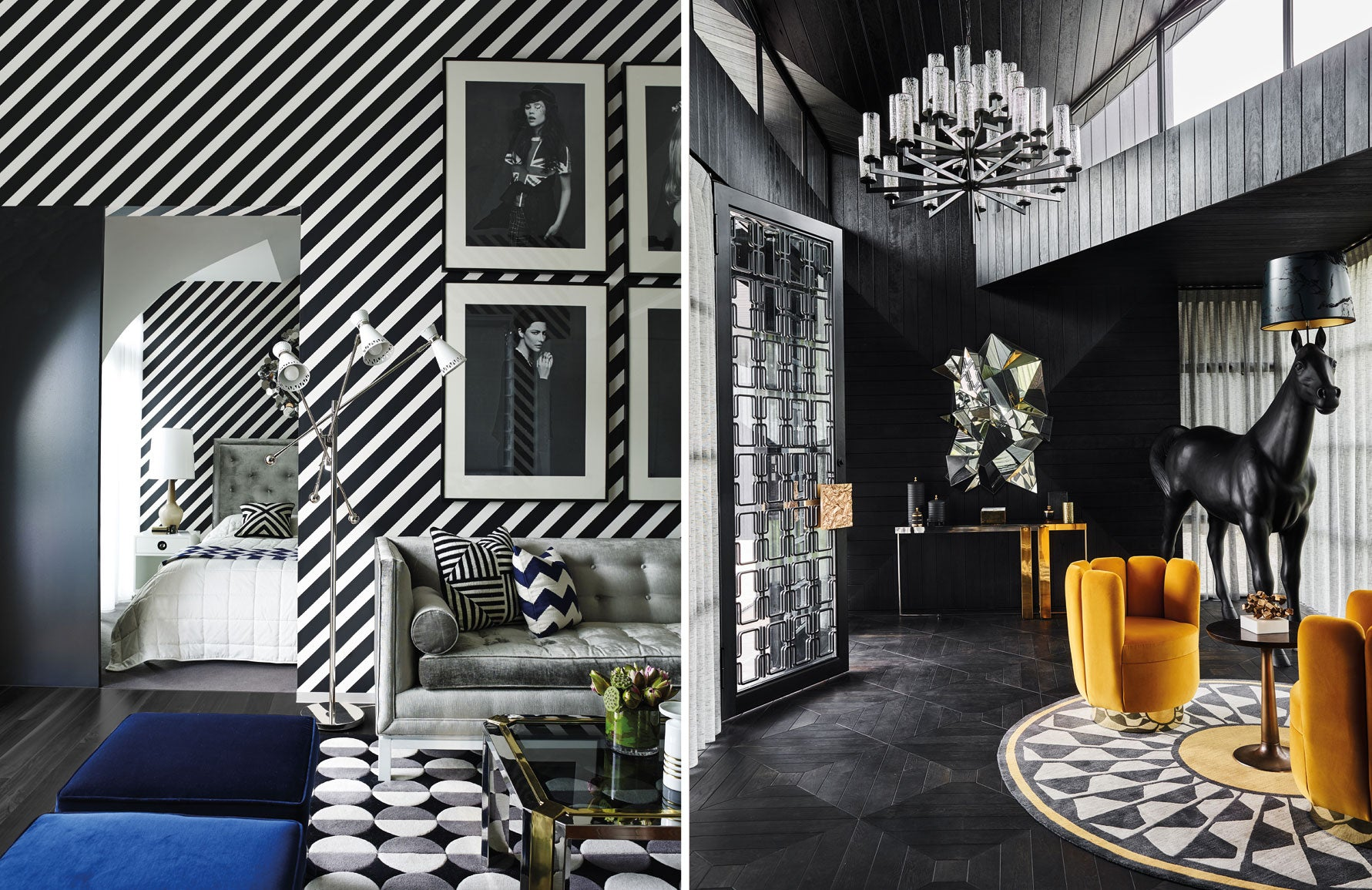 Greg Natale | Black and White Rooms | The Luxurist | LuxDeco.com