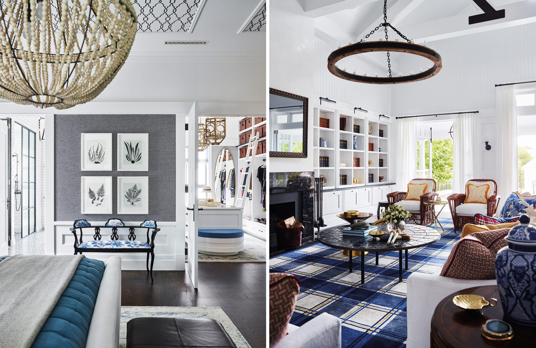 Greg Natale | Blue and White Rooms | The Luxurist | LuxDeco.com