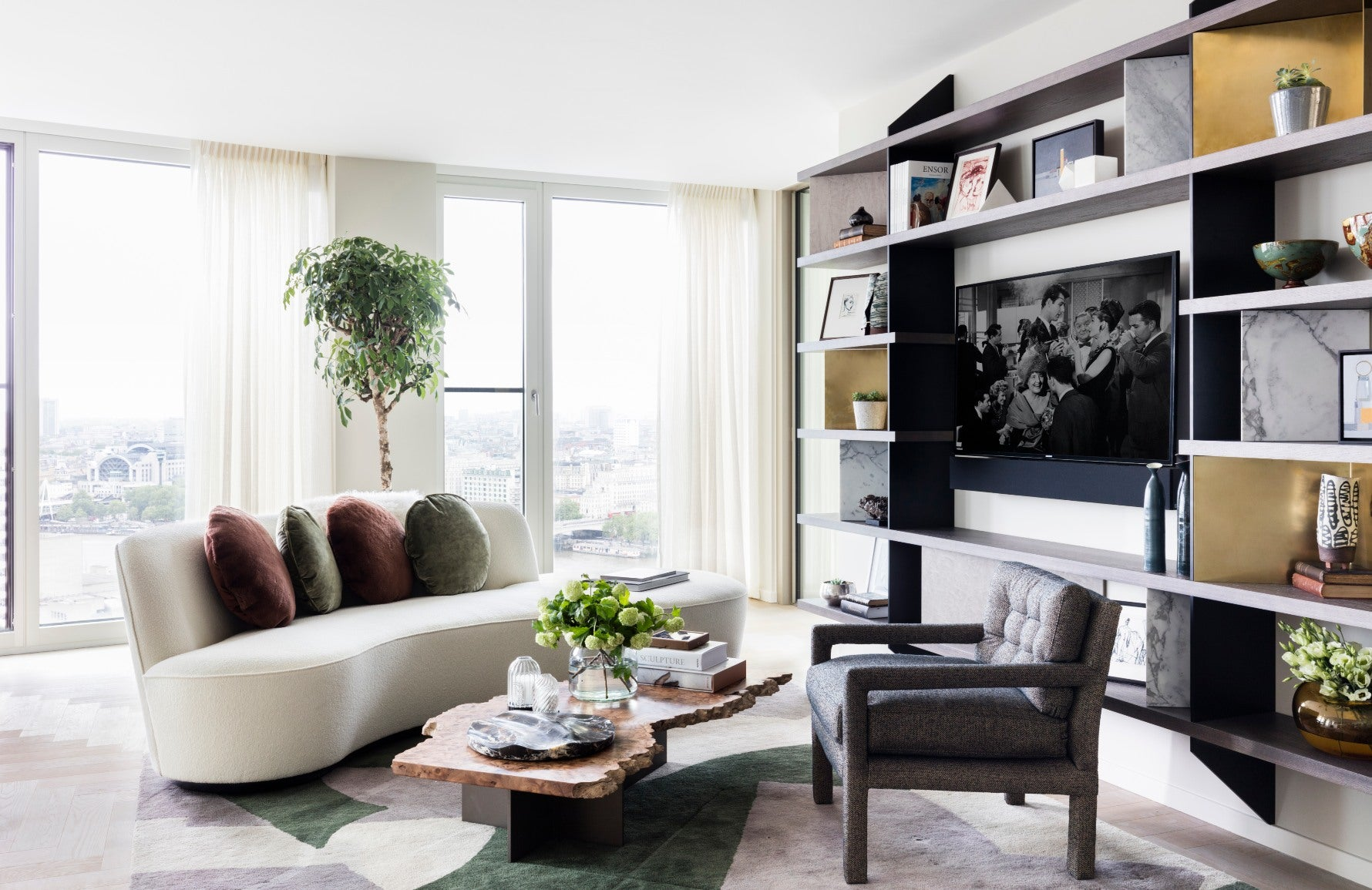 How To Style Your Sofa Cushions – Central cushion arrangement – Shop Luxury Cushions at LuxDeco.co