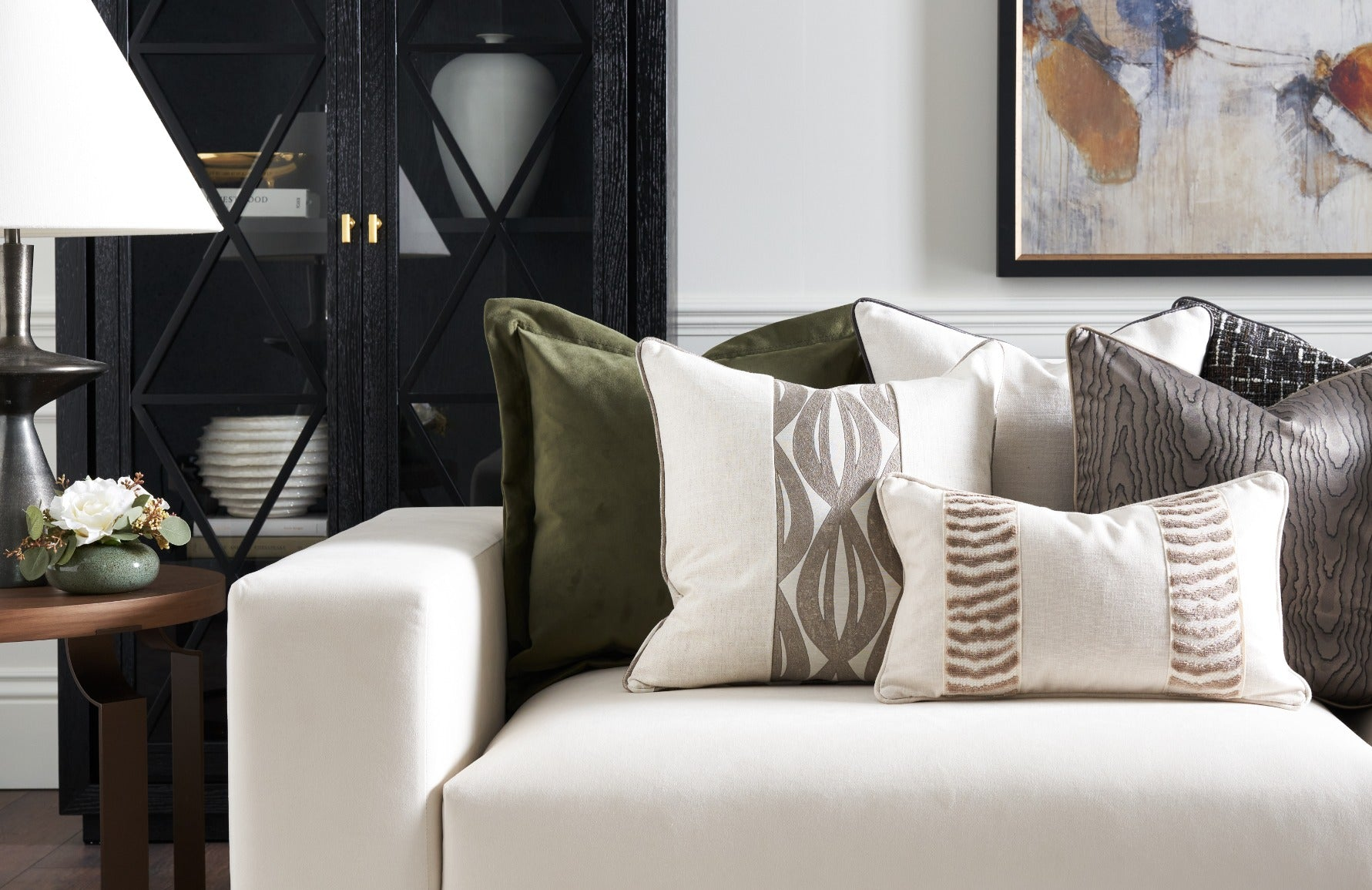 How To Choose The Perfect Cushions For Your Sofa | LuxDeco.com