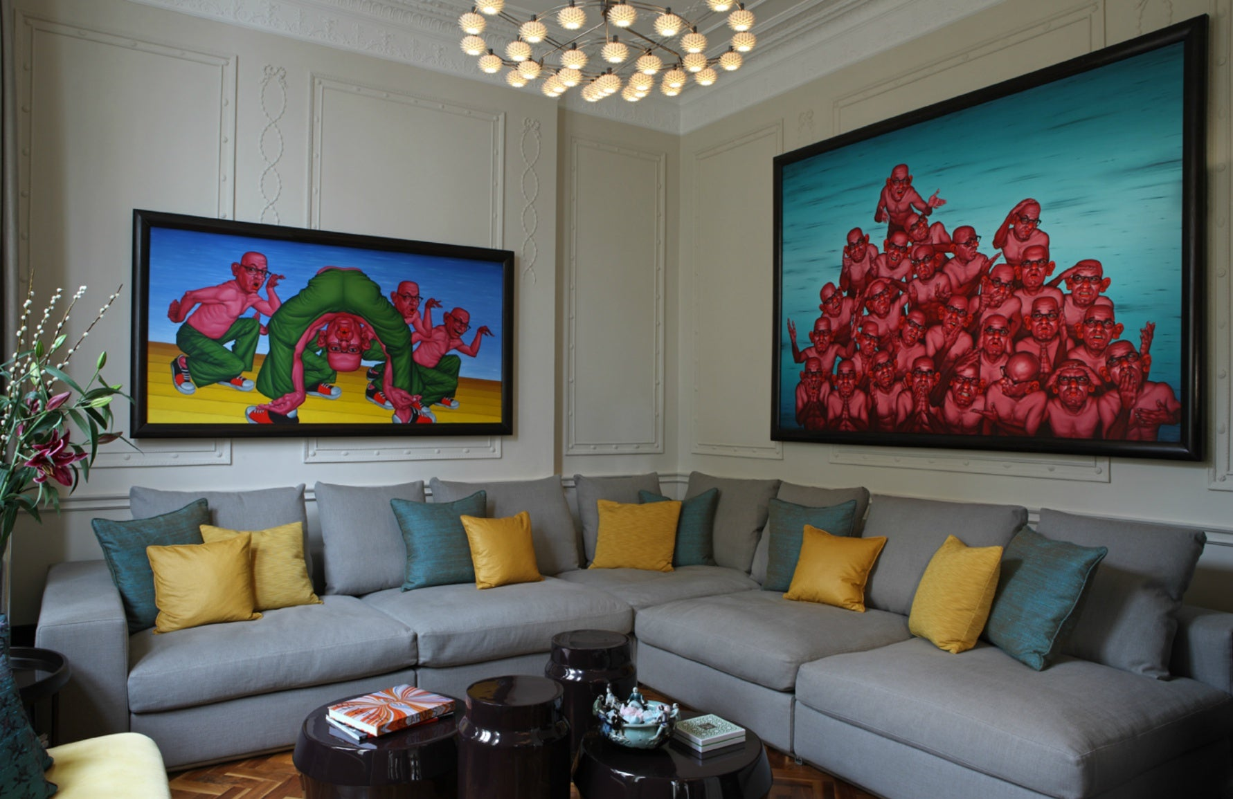 How To Collect Art Like A Professional | Tollgard Group Interiors | Shop art at LuxDeco.com