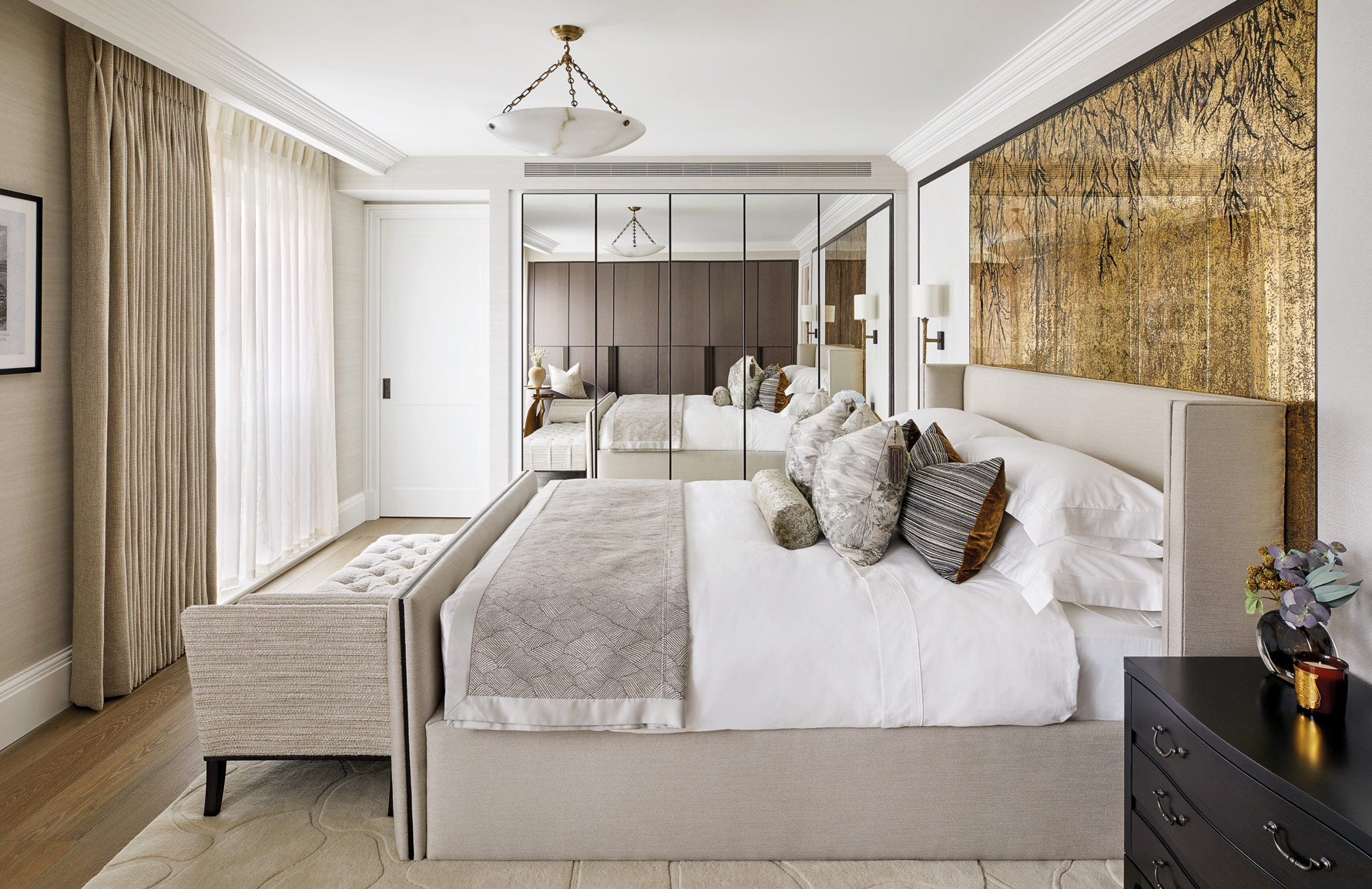 How To Dress A Bed | Hotel Bed Tips | Interior by Millier | Shop luxury bedding at LuxDeco.com