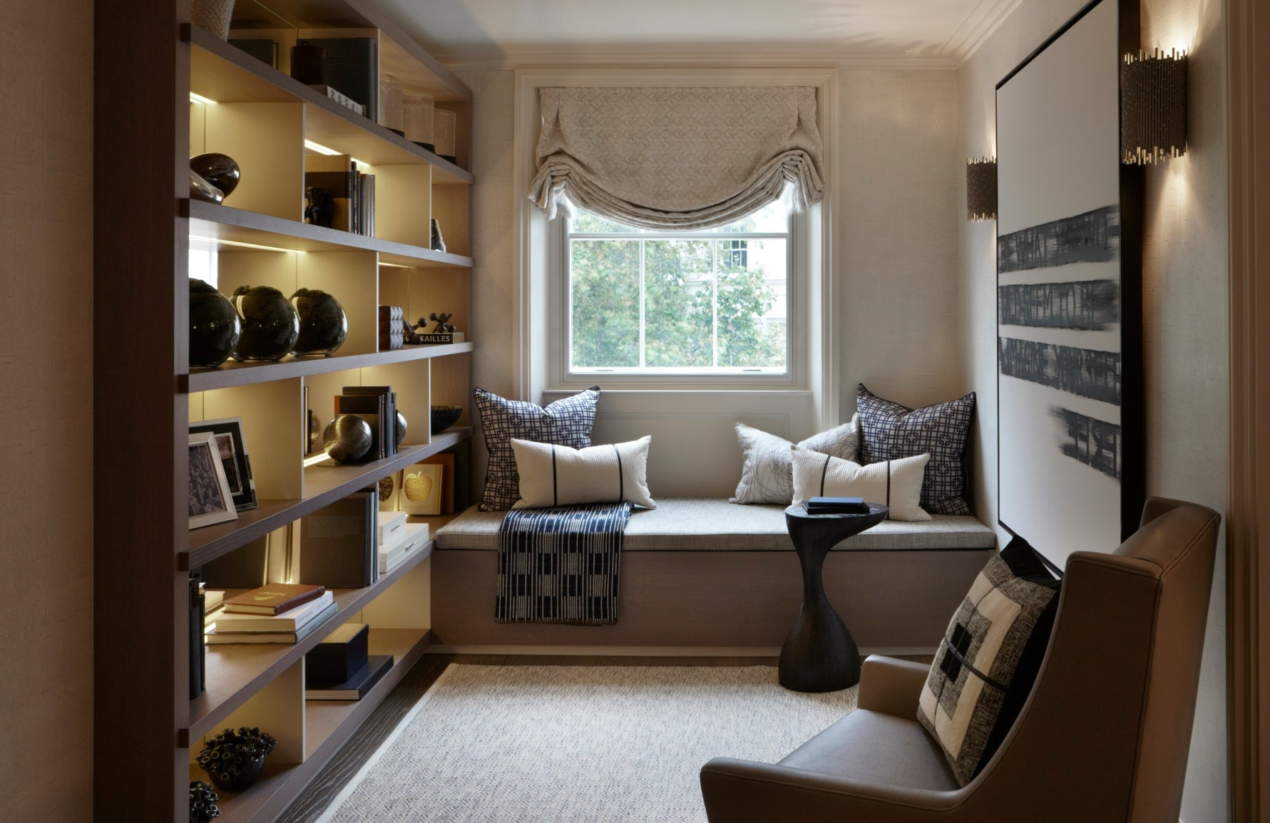 How To Make A Small Room Look Bigger | Helen Green Design | Small Room Ideas | Shop luxury furniture online at LuxDeco.com