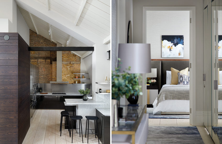 How To Nail Open-plan Living – Open Plan Kitchen Living Room – Read more in the LuxDeco Style Guide