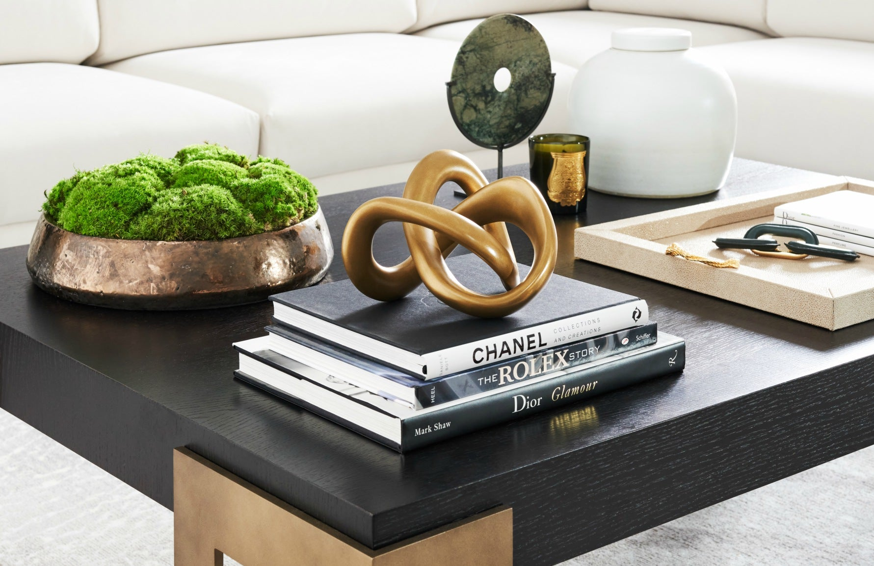 How To Style A Coffee Table | Step 4 | Coffee Table Styling Ideas | Shop in LuxDeco