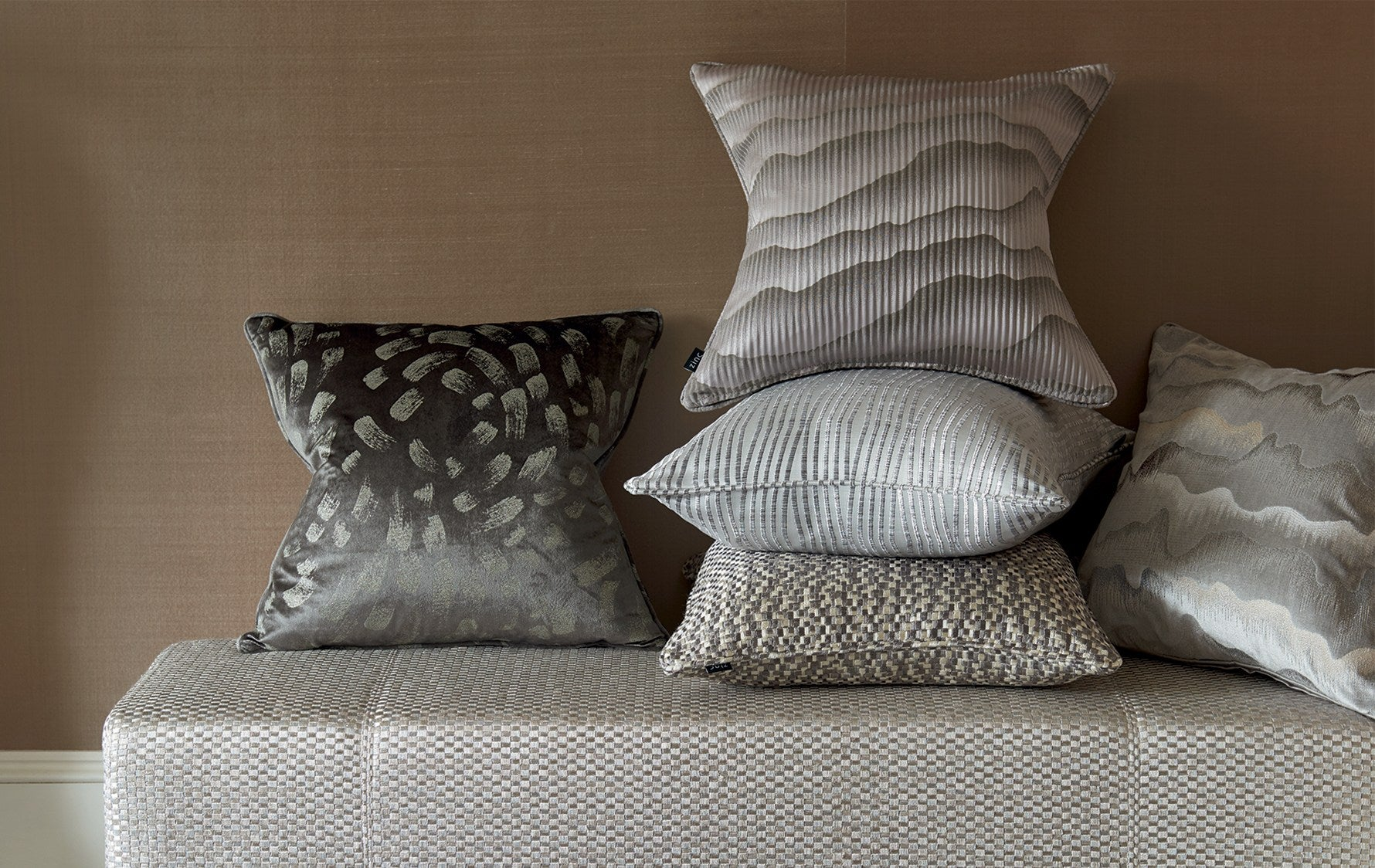 Luxury Winter Cushions | How to Decorate your Home for Winter | Read more in the LuxDeco Style Guide