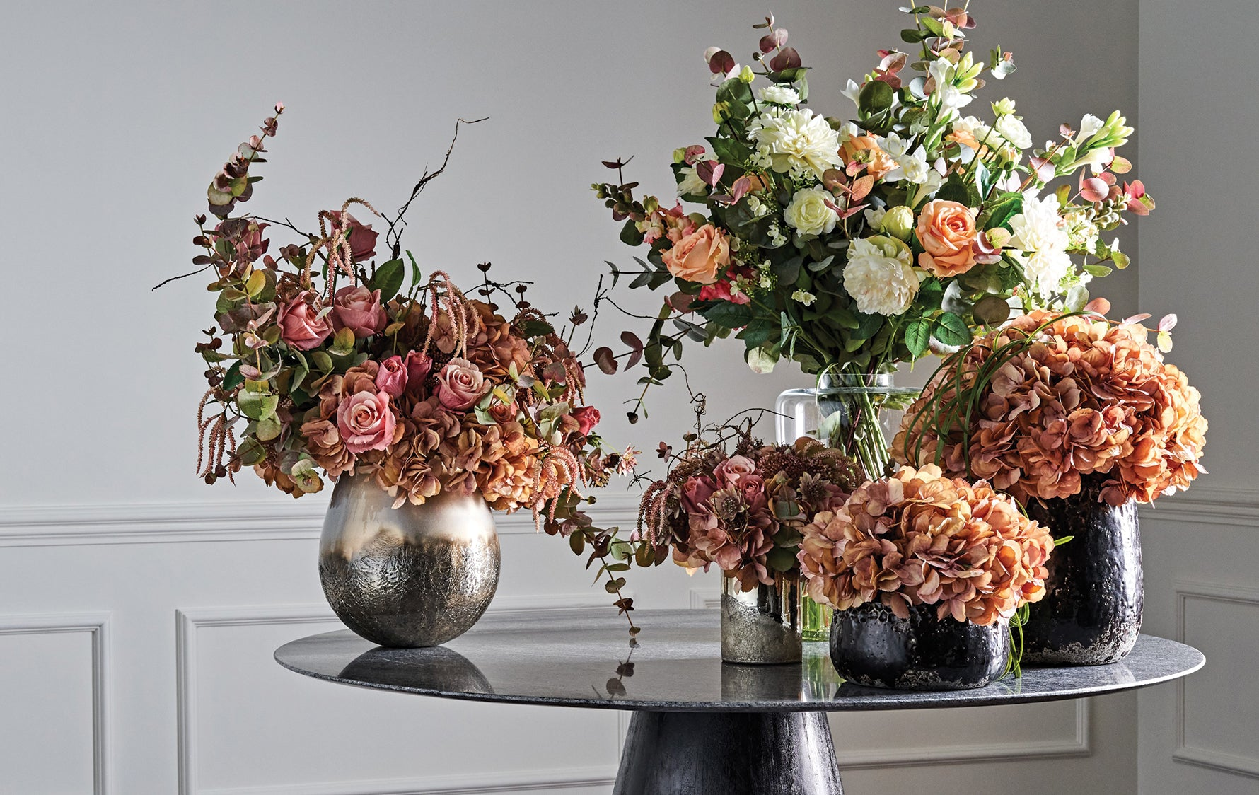 Bring Colour into your Home with Winter Florals | How to Decorate your Home for Winter | Read more in the LuxDeco Style Guide