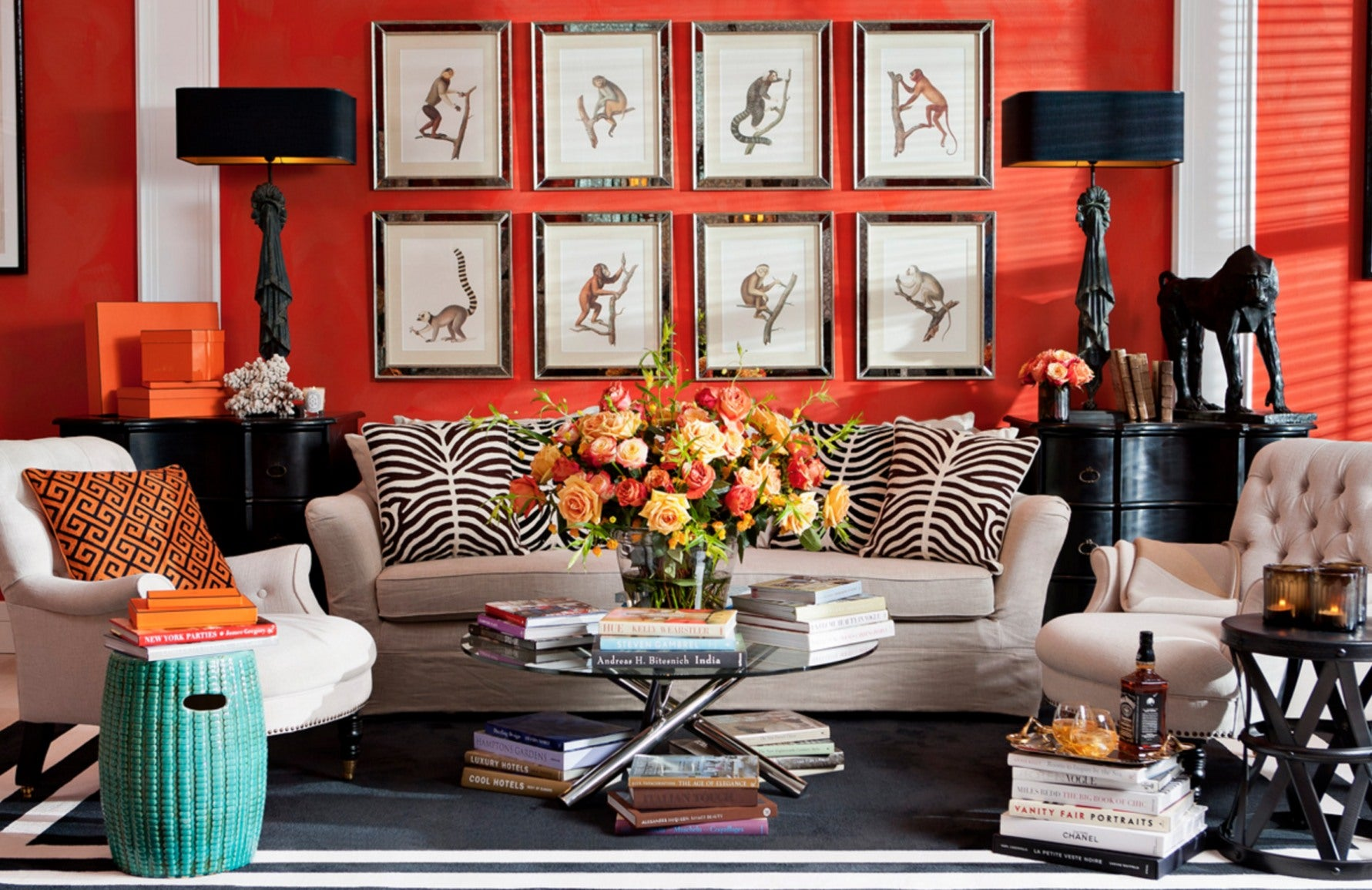How To Decorate With Animal Print In Your Home Luxdeco Com