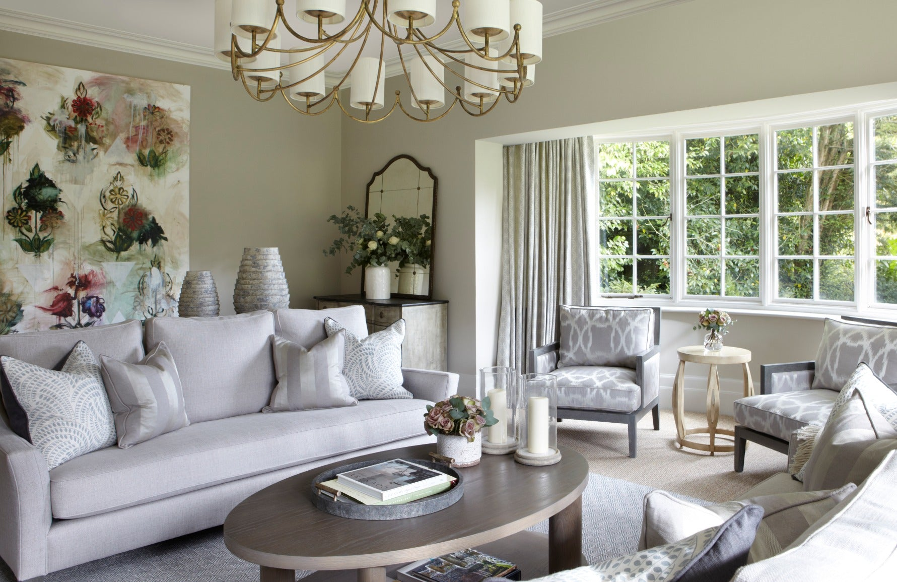 Interior Design Styles 101 – Country Interiors – Country Living Room – Helen Green Living Room – Read more in the LuxDeco Style Guide