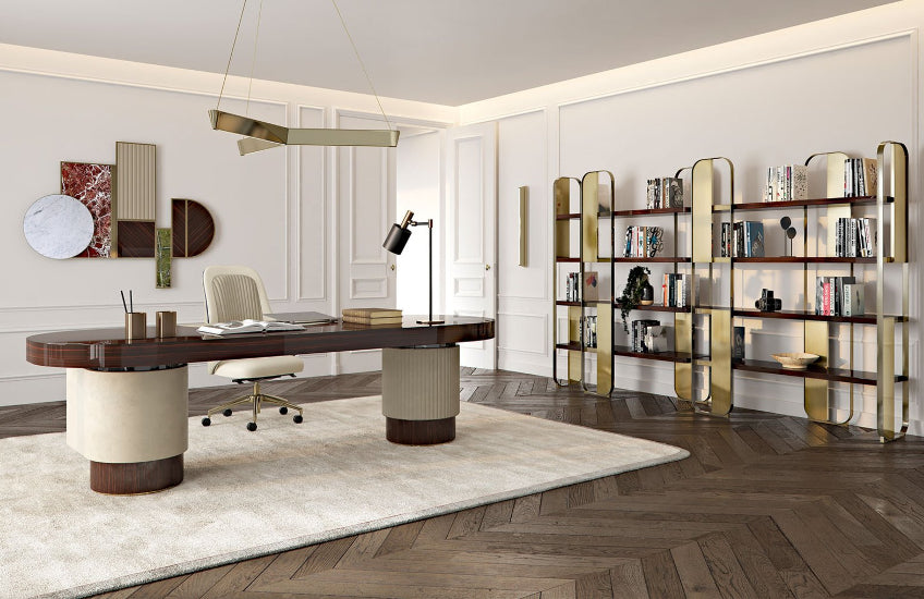 Home Office Interior Design Ideas to Boost Productivity | LuxDeco.com Style Guide