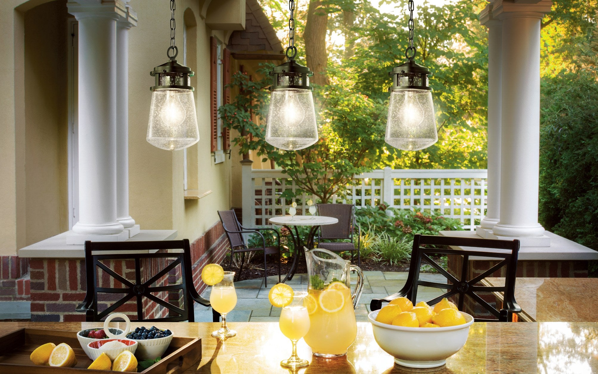 Illuminate your garden space for evening soirées - Outdoor Dining Ideas - LuxDeco Style Guide