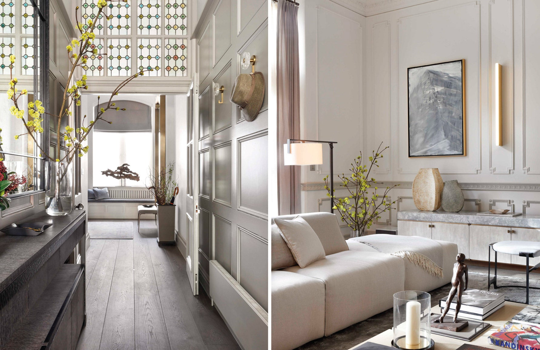Janine Stone interiors | Neutral Living Room | Read more in The Luxurist