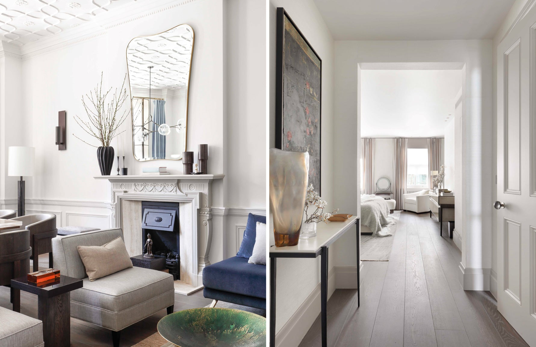 Janine Stone interiors | White Living Room | Read more in The Luxurist