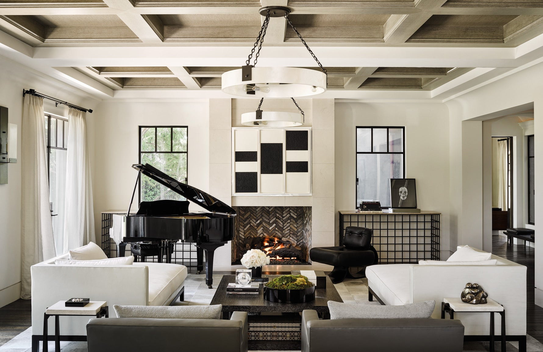 Kourtney Kardashian Home | Martyn Lawrence Bullard | Celebrity Interior Designer | Mid-century Interiors | Read more in The Luxurist at LuxDeco.com