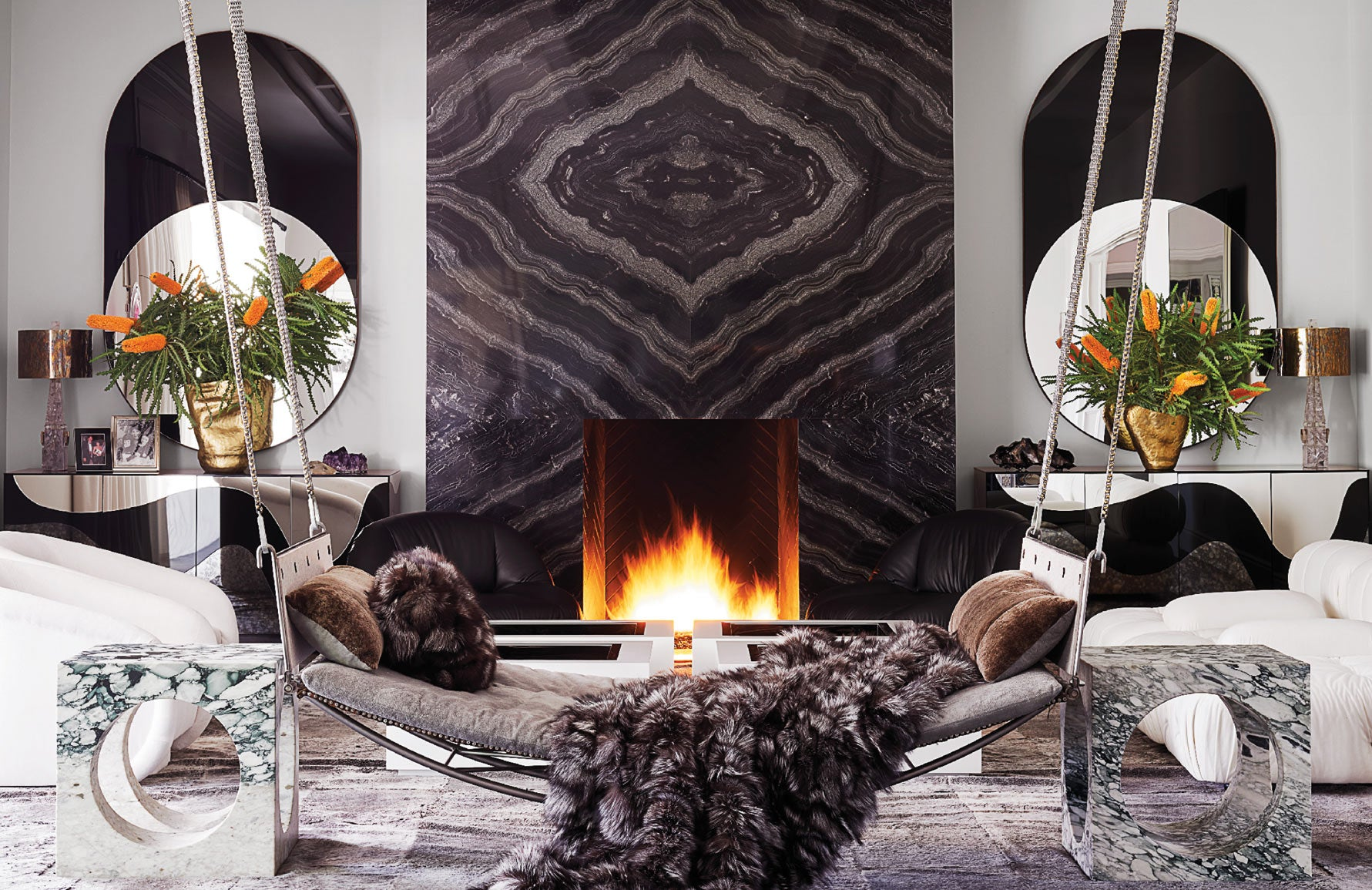 Kylie Jenner home   Martyn Lawrence Bullard   Celebrity interior designer   Grey interiors   Read more in The Luxurist at LuxDeco.com