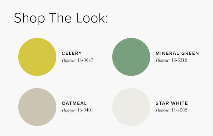 Lime and Neutral Bedroom Colour swatches - Bedroom Colour Scheme Ideas & Combinations – LuxDeco Style Guide