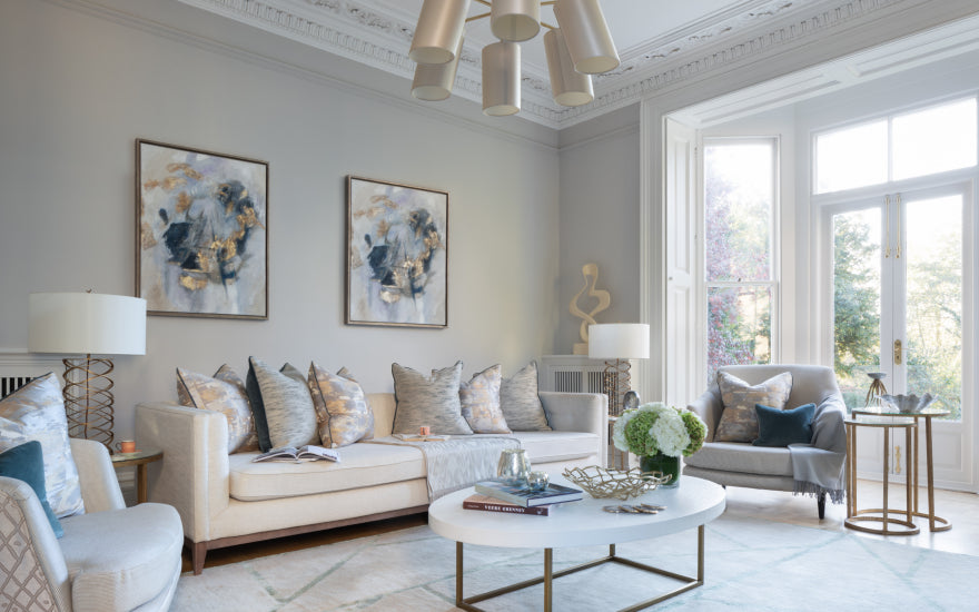 Living Room Makeover with Sophie Peckett Design - After Shot - LuxDeco Style Guide