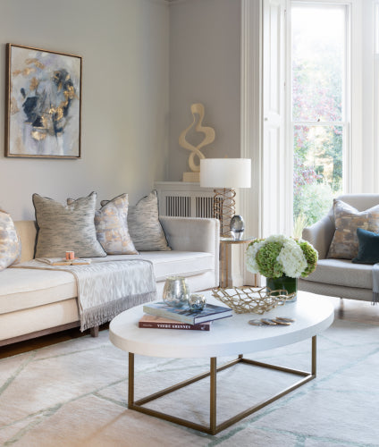 Living Room Makeover with Sophie Peckett Design - After Shot 2 - LuxDeco Style Guide
