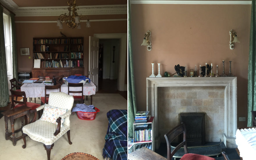 Living Room Makeover with Sophie Peckett Design - Before Shot - LuxDeco Style Guide