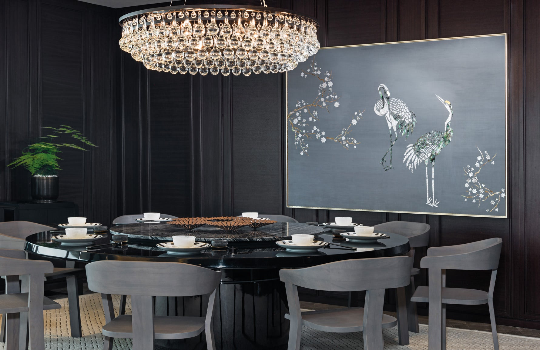 Luxury Dining Room Styles | Asian Dining Room | AB Concept | Read more in The Luxurist at LuxDeco.com.jpg